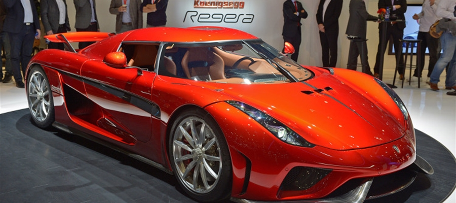 The Koenigsegg Regera Hybrid At Geneva Auto Show