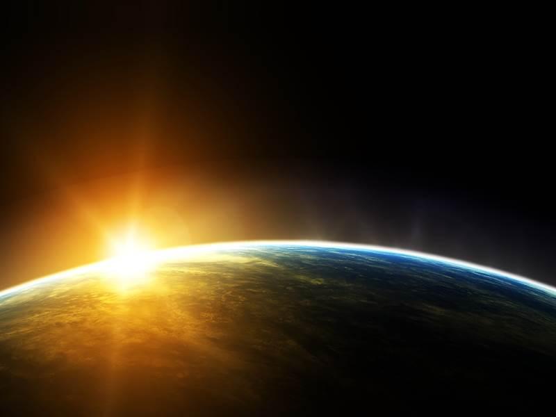 sun veiw from space