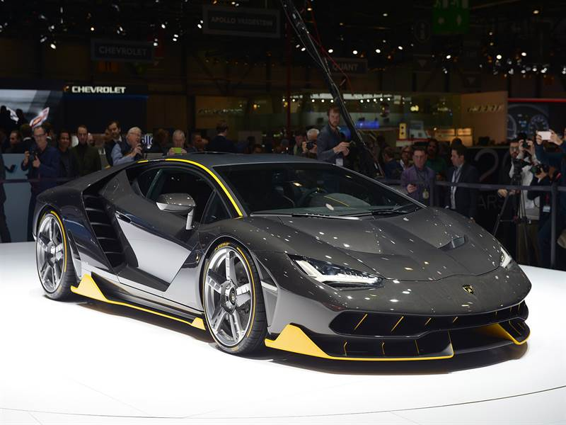 The Latest Lamborghini Centenario Race Car.