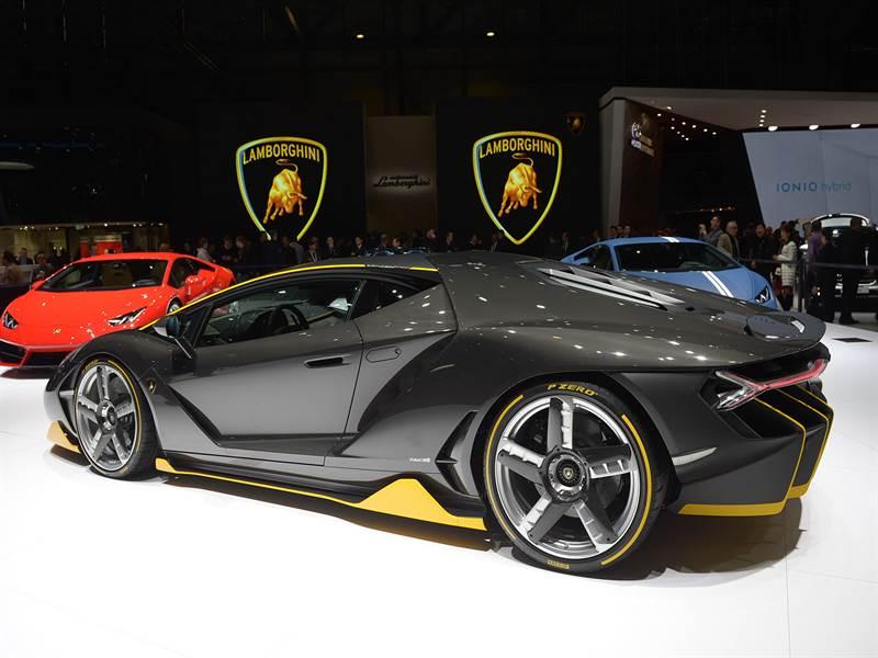 Lamborghini at Geneva Motor Show