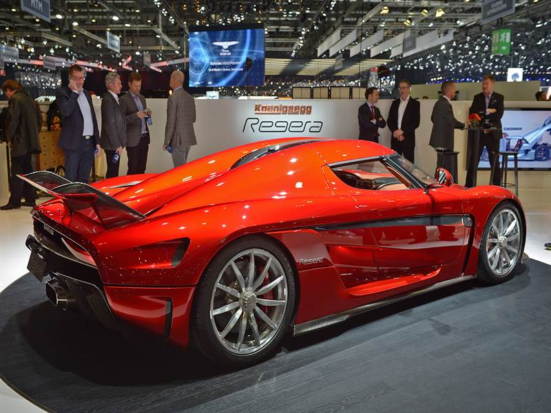 Koenigsegg Regera Photo At Geneva Auto Show