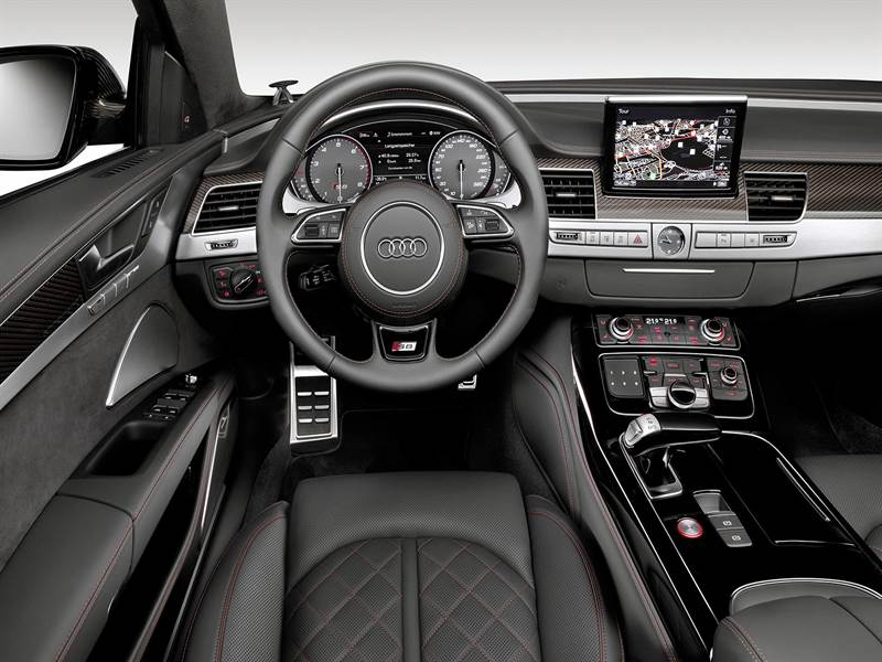 2016 Audi S8 Plus Cockpit View Photo