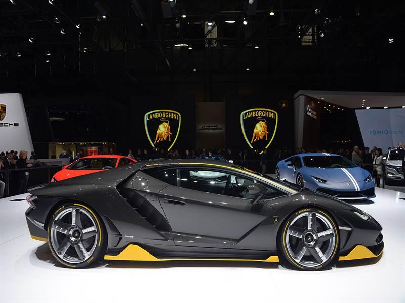 Lamborghini Centenario Side View Image