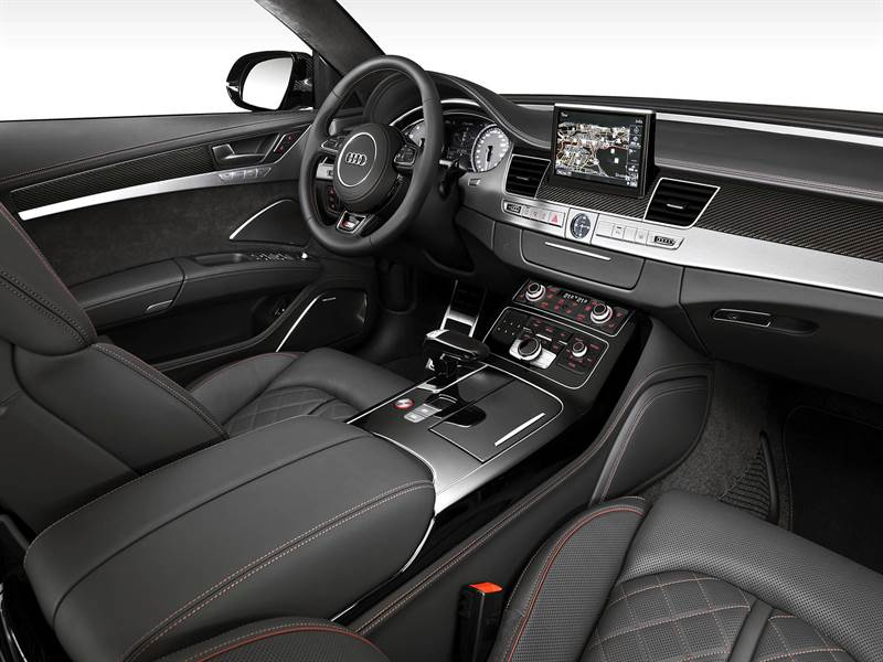 2016 Audi S8 Plus Inside View Image