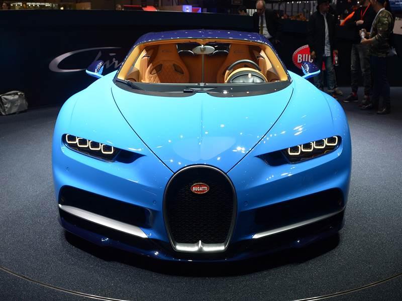 Bugatti Chiron Exotic Front View Image
