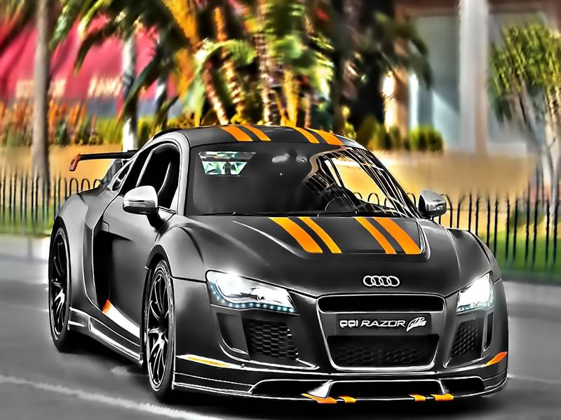 Audi Super Car Picture