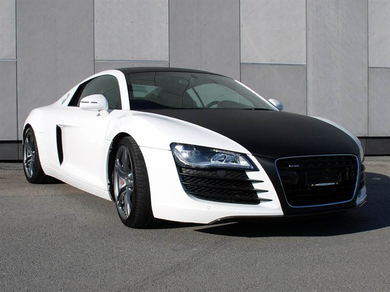 Custom Modified Audi R8 Wallpaper