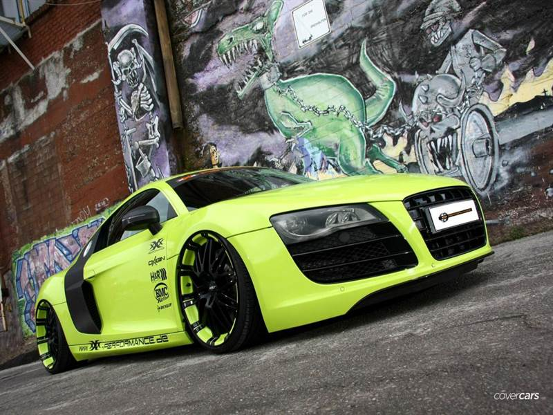 Audi R8 Exotic Wallpaper