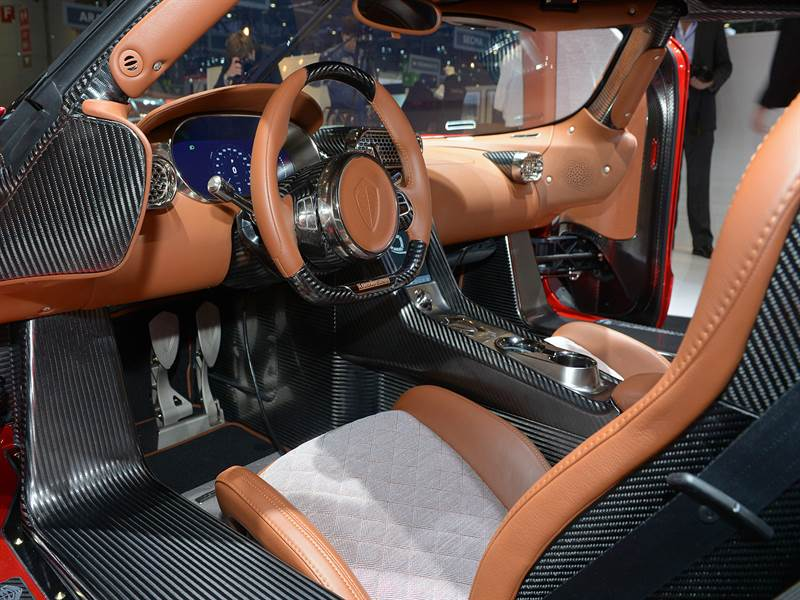 Koenigsegg Regera Interior View Photo