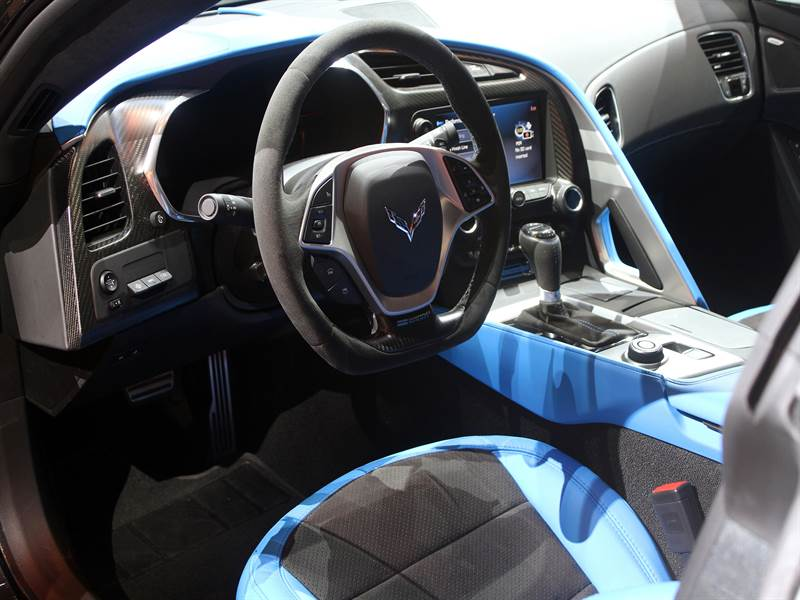 2017 Chevy Corvette Interior View Image