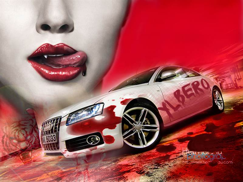 Desktop Wallpaper of Audi