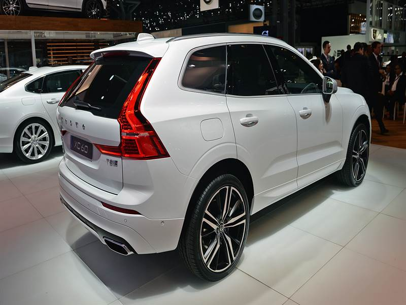 2018 Volvo XC60 Rear
