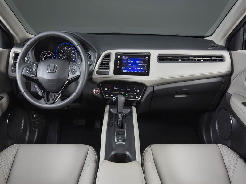 2017 Honda HR-V Cockpit View
